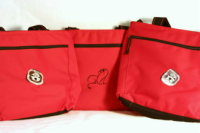Red Insulated Tote Bag